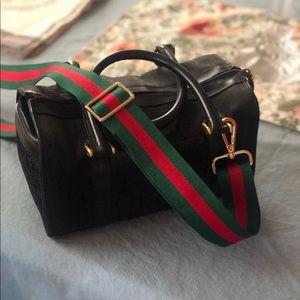 Vintage GG Boston Gucci bag